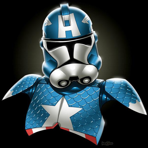 Captain America Trooper