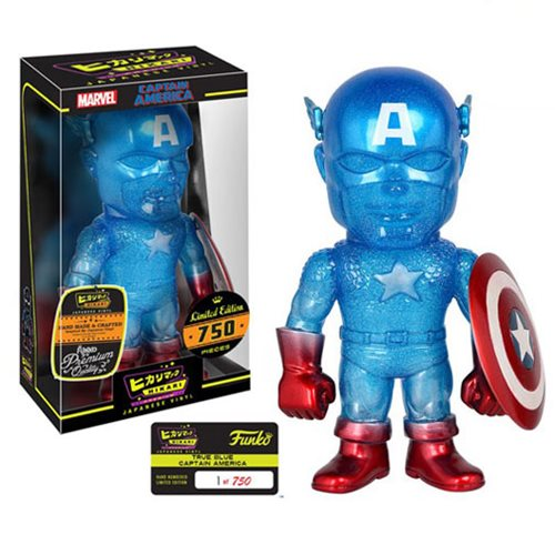 Captain America True Blue Hikari Vinyl Figure