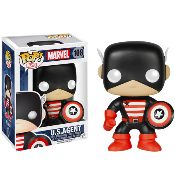 Captain America US Agent Pop Vinyl Figure