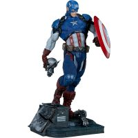 Captain America Ultron Sentry Head Premium Format Figure