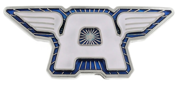 Captain America Wings Blue Belt Buckle