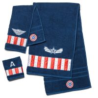 Captain America Winter Soldier 3-Piece Towel Set