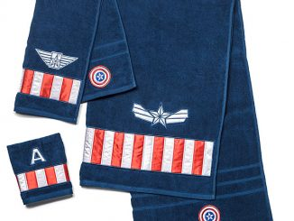 Captain America Winter Soldier 3-Piece Towel Set