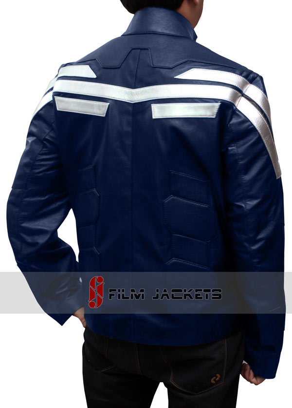 Captain America Winter Soldier Jacket Back