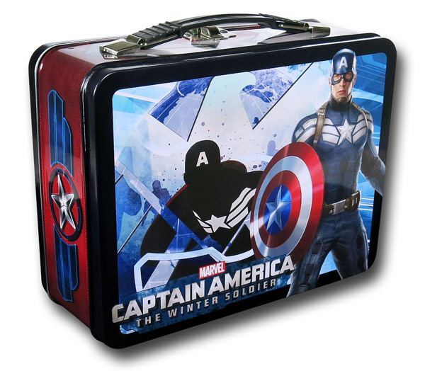 Captain America Winter Soldier Lunch Box