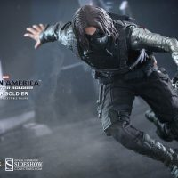 Captain America Winter Soldier Sixth Scale Figure Action