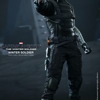 Captain America Winter Soldier Sixth Scale Figure Aiming