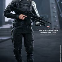 Captain America Winter Soldier Sixth Scale Figure Walking
