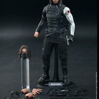 Captain America Winter Soldier Sixth Scale Figure with Accessories