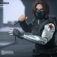 Captain America Winter Soldier Sixth Scale Figure with Knife