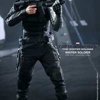 Captain America Winter Soldier Sixth Scale Figure with Rifle