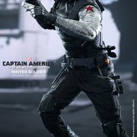 Captain America Winter Soldier Sixth Scale Figure with Two guns