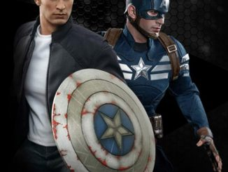 Captain America and Steve Rogers Sixth Scale Figure Set