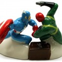 Captain America vs. Red Skull Salt & Pepper Shakers