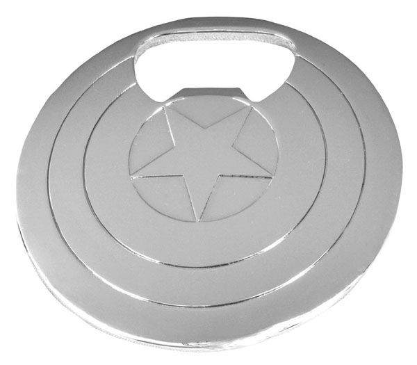 Captain America's Shield Bottle Opener