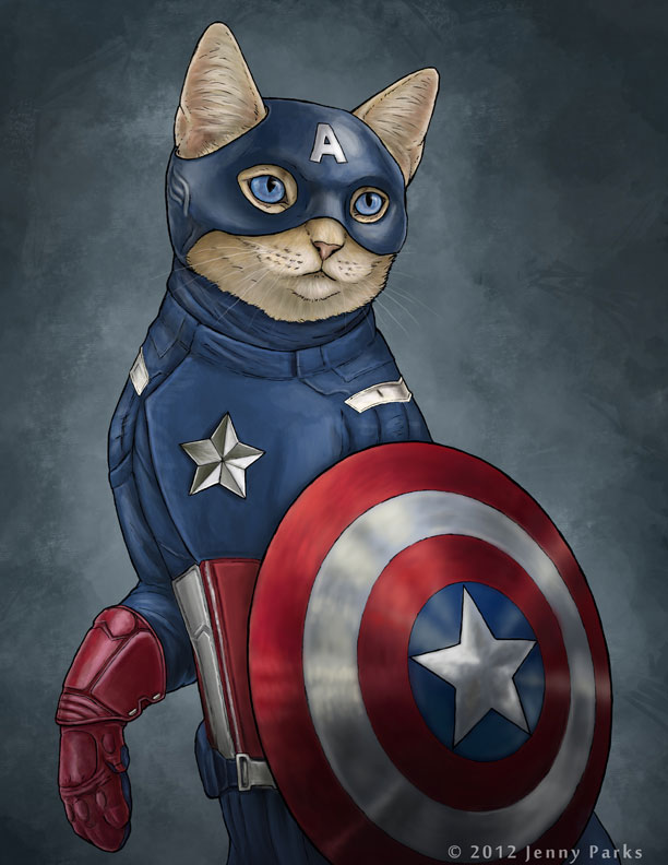 Captain America Kitty