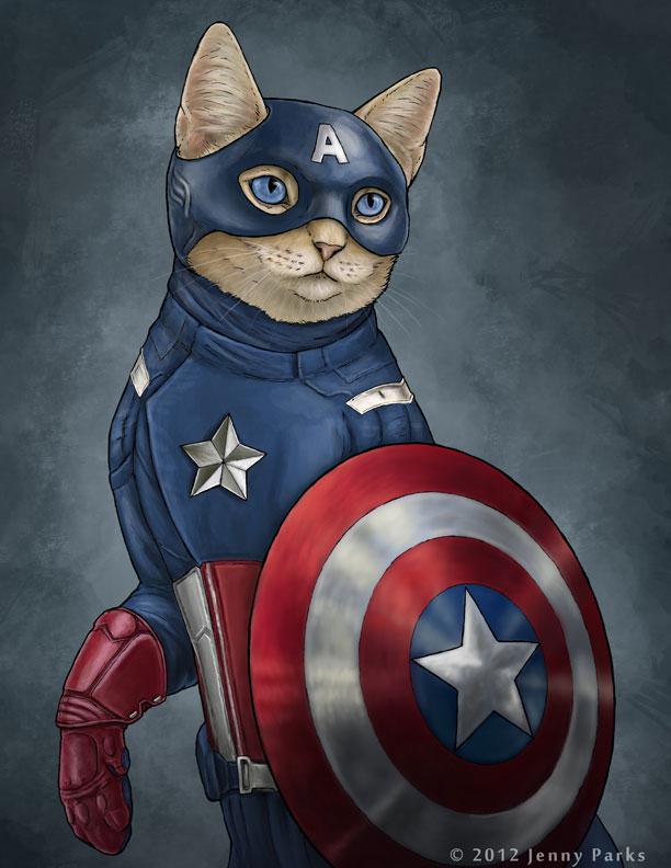 Captain America Kitty