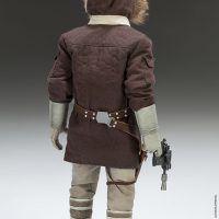 Captain Han Solo Hoth Sixth-Scale Figure Back