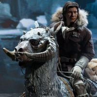 Captain Han Solo Hoth Sixth-Scale Figure on Tauntaun