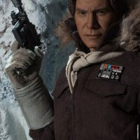 Captain Han Solo Hoth Sixth-Scale Figure with Blaster