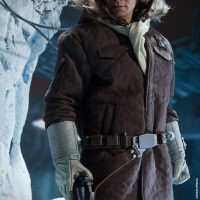 Captain Han Solo Hoth Sixth-Scale Figure with Blaster and Coat