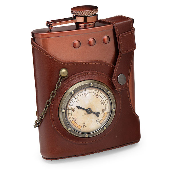 Captain Jules Everlasting Steampunk Flask