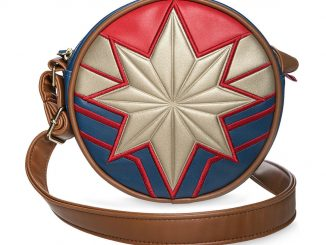 Captain Marvel Circle Crossbody Bag