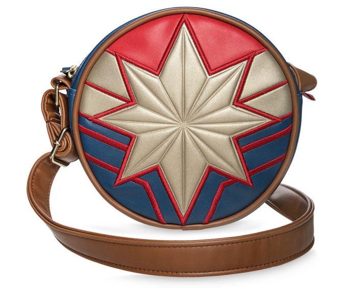 Captain Marvel Circle Crossbody Bag