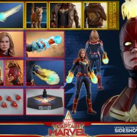 Captain Marvel Deluxe Sixth Scale Figure Accessories
