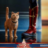 Captain Marvel Goose Cat Scale Figure