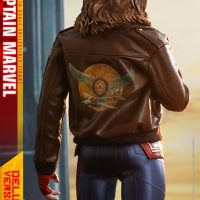 Captain Marvel Leather Jacket Figure
