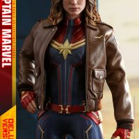 Captain Marvel Leather Jacket Sixth Scale Figure