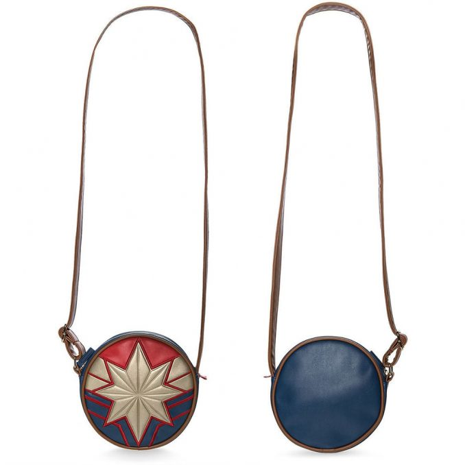 Captain Marvel Logo Crossbody Bag