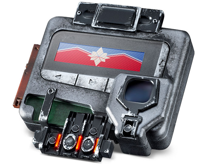 Captain Marvel Universal Pager