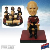 Captain Picard Build-a-Bridge Deluxe Bobble Head