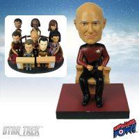 Captain Picard Build-a-Bridge Deluxe Bobble Head