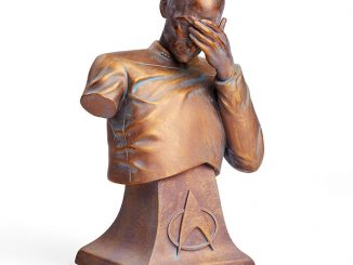 Captain Picard Facepalm Bust Bronze Edition