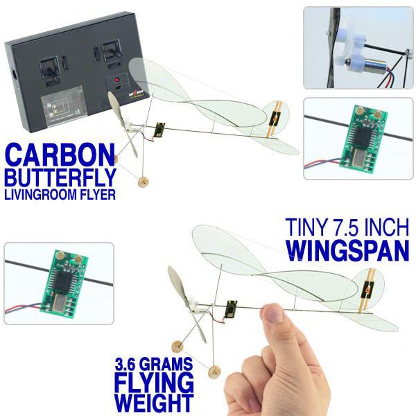 Carbon-erfly-Livingroom-Super-Mini-RC-Flyer Ghostbusters Firehouse Design Model on