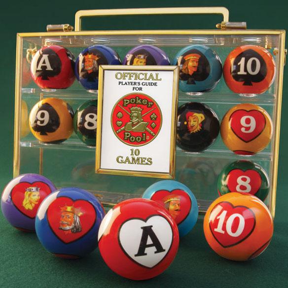 Card Game Billiard Balls