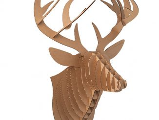 Cardboard Safari Animal Trophies