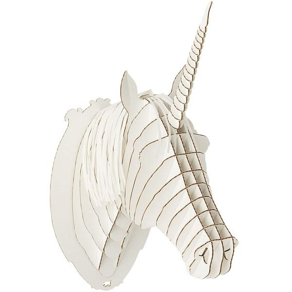 Cardboard Unicorn Head