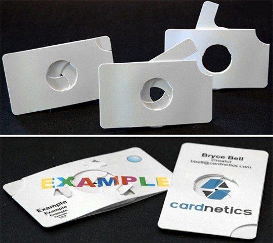 Cardnetics Small Iris Business Cards