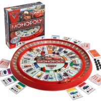 Cars 2 Race Track Monopoly Game
