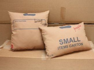 Carton pillows