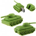 Cartoon Tank Shaped 16GB USB Drive
