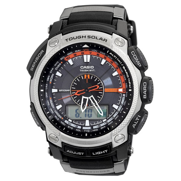 Casio PAW5000-1 Pathfinder Solar Power Watch