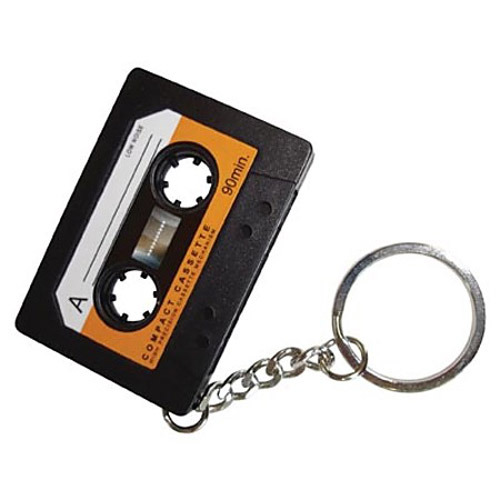 Cassette Tape Recorder Key Chain