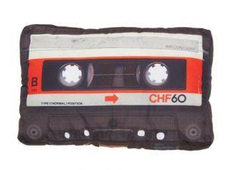 Cassette Tape Retro Pillow