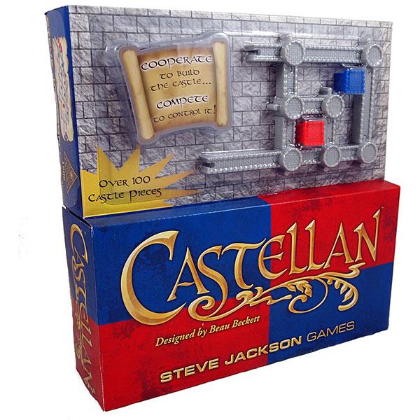 Castellan the Castle Building Game