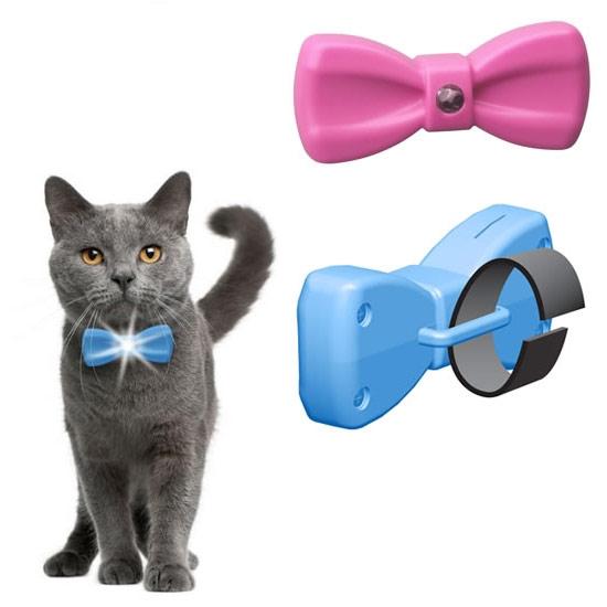Cat-Bowtie-Collar-Light